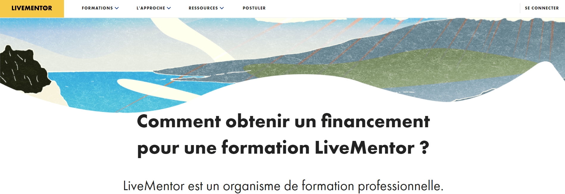 Livementor : Financement
