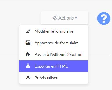LearnyMail - Exporter en HTML